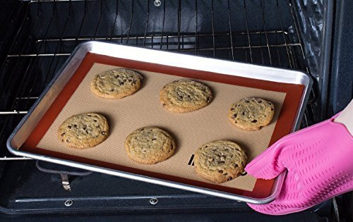 iMarku Silicone Baking Mat Set of 2 ,Non-Stick,Heat Resistant, Durable Silicon Liner for Bake Pans by iMarku (Image #8)