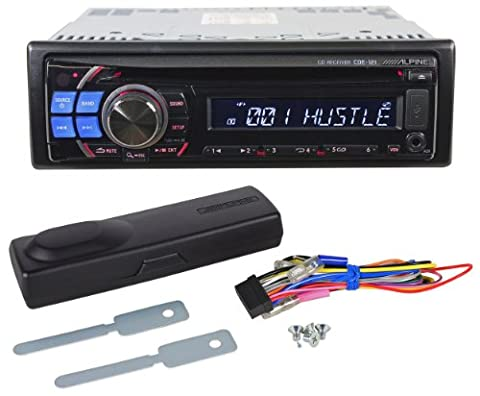 Brand New Alpine CDE-121 Single Din In-Dash Car Audio Receiver with USB port for iPod/MP3 Players (98 Cherokee Stereo Alpine)