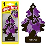 Magic Tree Little Trees Car Home Air Freshener Freshner Smell Fragrance Aroma Scent - RELAX (108 Pack)