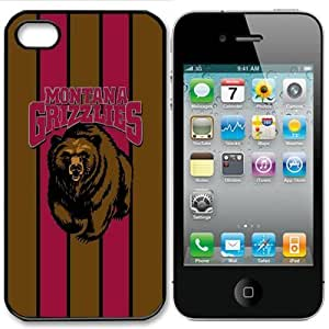 NCAA Motana Grizzlies iPhone 4/4s and 4s Case Cover