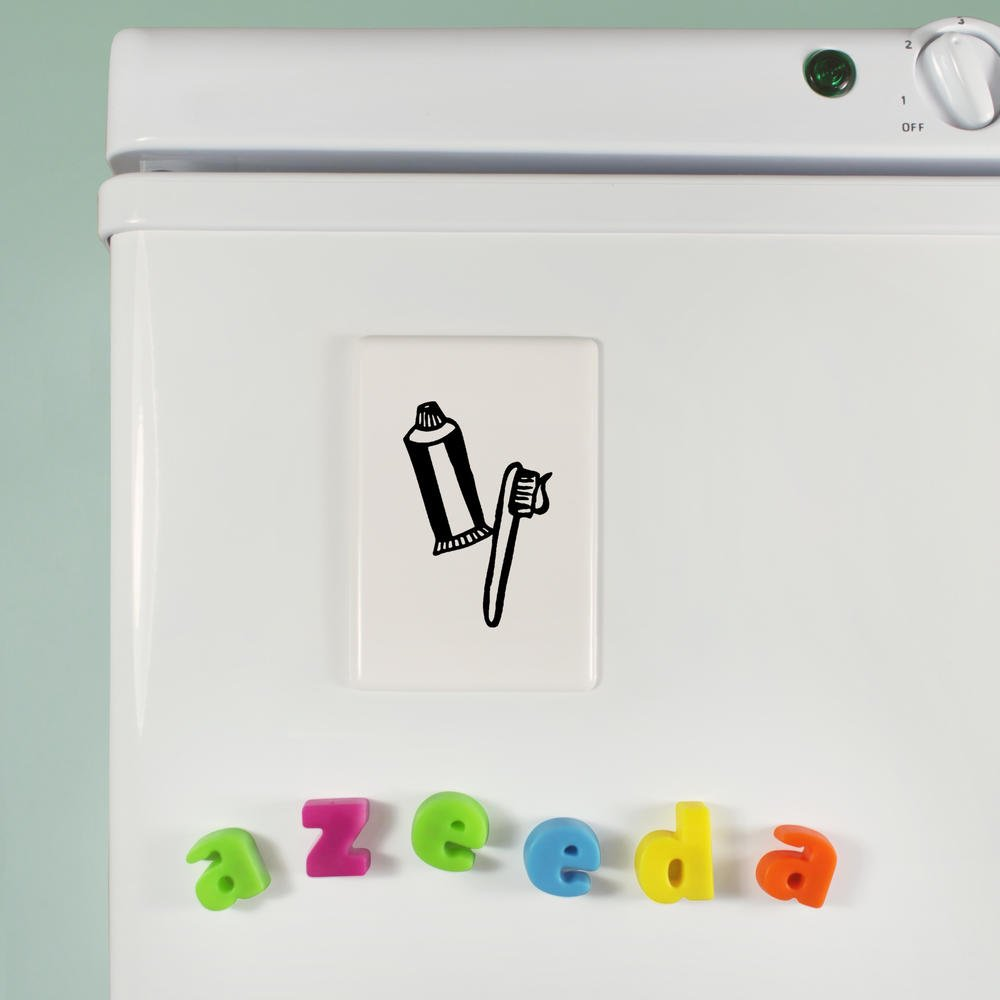 Cepillo de Dientes y Pasta Imán de Refrigerador (FM00005649): Amazon.es: Juguetes y juegos