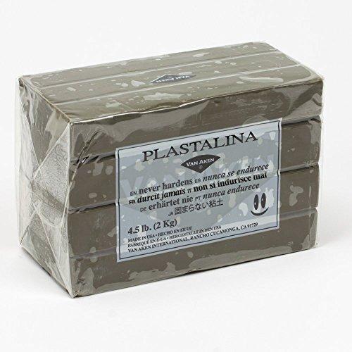 - Van Aken Plastalina Non-Hardening Modeling Clay 4.5 Lb. Sculpture Gray