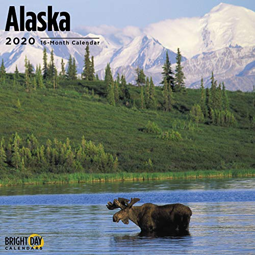 Alaska Wall Calendar 2020  Travel