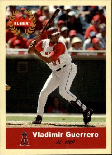 2005 Fleer Tradition Baseball Card #340 Vladimir Guerrero Mint