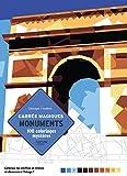 100 coloriages myst?res en carr?s magiques monuments du monde color by muber pixel art world monuments french edition