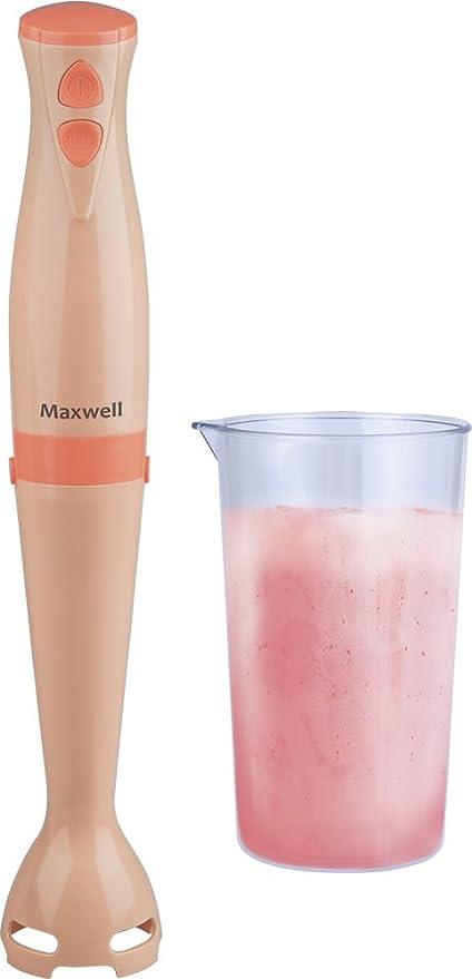 Maxwell MW-1162 Y Batidora de inmersión 0.5L 350W Naranja ...
