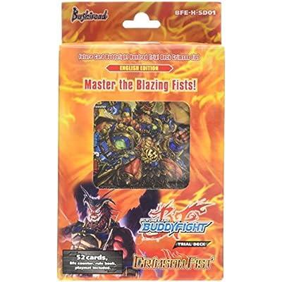"Future Card Buddyfight ""new Series Trial Deck 01 Crimson Fist"" Card Game: Toys & Games"