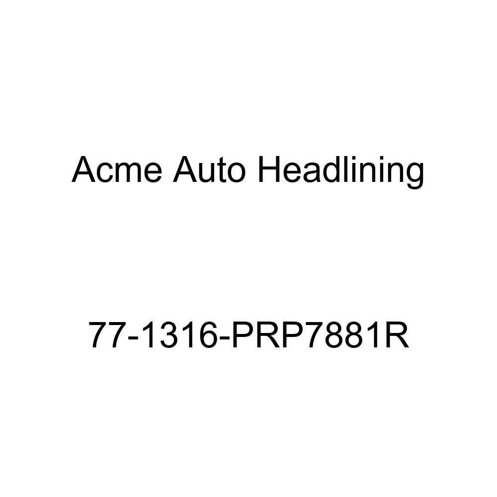 1977 Cadillac Fleetwood 4 Door Limousine Acme Auto Headlining 77-1316-PRP7881R Carmine Replacement Headliner
