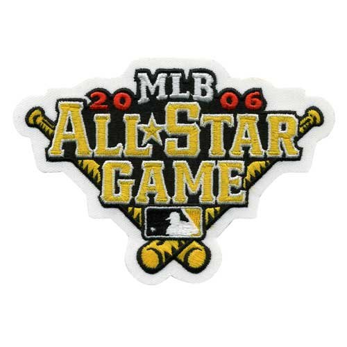 2006 MLB All Star Game in Pittsburgh Pirates PNC Park Jersey Logo Patch