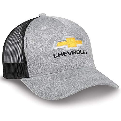 Chevrolet Jersey and Mesh Gray Baseball Cap