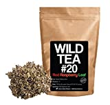 Red Raspberry Leaf Tea, Organic Herbal Tea By Wild Foods Co (4 ounce)