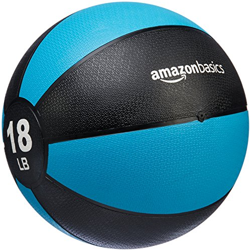 (AmazonBasics Medicine Ball, 18-Pounds)