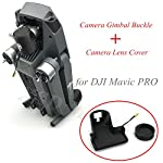 1set 3D Printed Camera Protector Bracket Clip Gimbal Fixator Lock Clamp Camera Lens Cover Buckle for DJI Mavic PRO