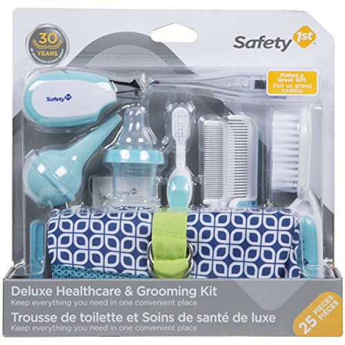 Safety 1st Deluxe Healthcare and Grooming Kit, Arctic (Baby Care Set)