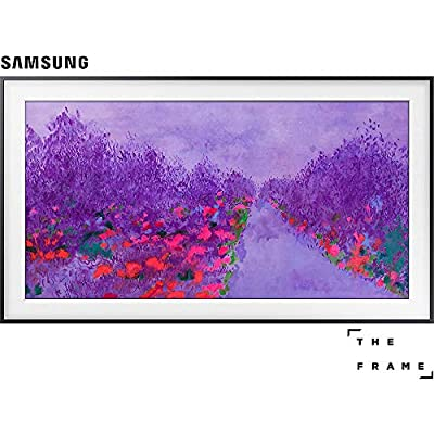 "Samsung UN55LS03N 55""-Class The Frame Premium 4K UHD TV (2018 Model) + Samsung 4K Ultra HD Blu-Ray Player"