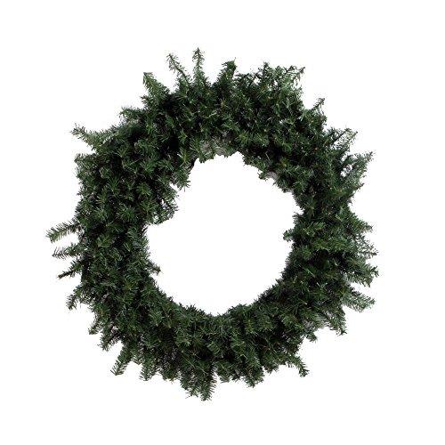 Vickerman Canadian Pine Wreath-Unlit, 24-Inch, (Pine Canadian Artificial Wreath)