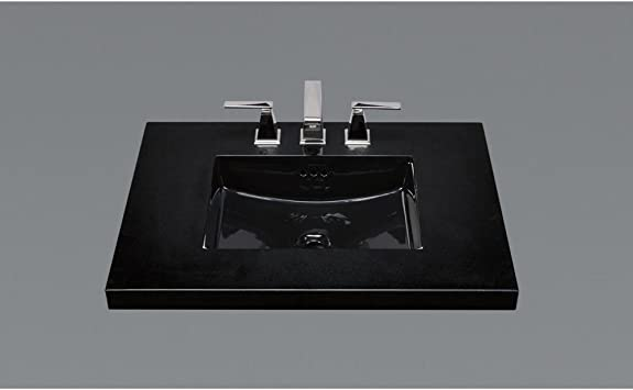 Ceramic Undermount Bathroom Sink In Black Amazon Co Uk Diy Tools