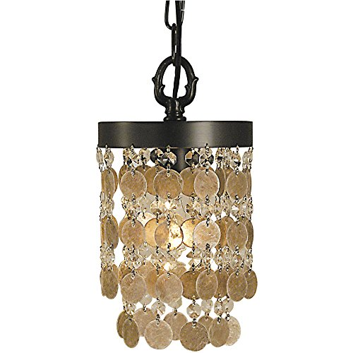 1-Light Pendant - Framburg Lighting Crystal Pendant