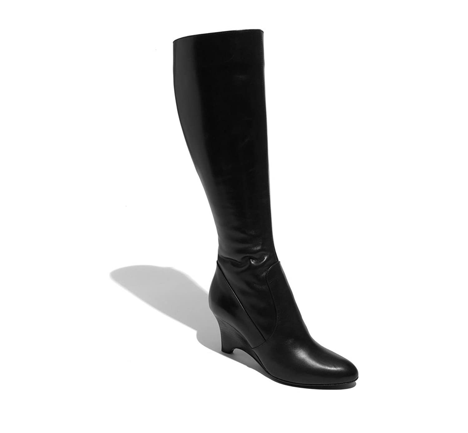 Bruno Magli Linnea Womens Leather Knee High Boot