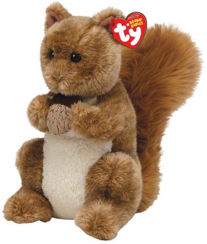 Ty toys ty beanie buddies nutty squirrel