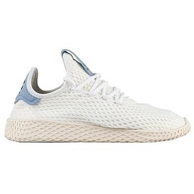 e73df699718ed Amazon.com | Adidas x Pharrell Williams Big Kids Tennis HU J white ...