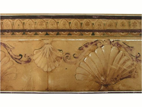 - Norwall Bronze Scroll Leaf Wallpaper Border Pattern Number: KS74373L