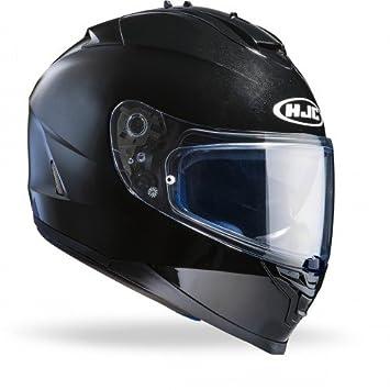 HJC 12153006 Casco de Moto, Negro Metal, Talla XS