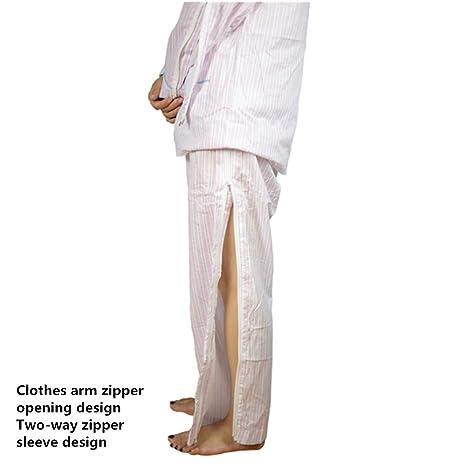 Camas de algodón Multiusos fácil de Quitar el Traje Enfermo accidente Hemiplegia Cuidado del Cuidado del Paciente Suit: Amazon.es: Deportes y aire libre