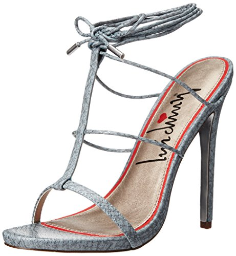 Story Snake Blue Women's Storm Sandal Dress Her Luichiny qU4wZx