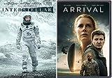 Other Worldly Communication Collection - Denis Villeneuve's Arrival & Christopher Nolan's Interstellar 2-DVD Bundle Double Feature