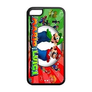 iPhone 5C Phone Case Platform Video Game Super Mario Bros AQ063359