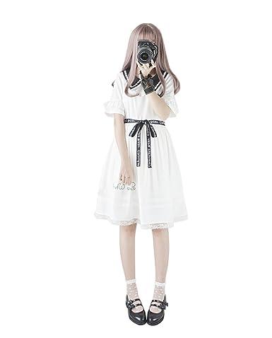e0e02972b8eb7  Cospland  ロリータ服 ワンピース コスプレ SNOW WHITE 森ガール 姫袖 通勤 半袖 ブラック
