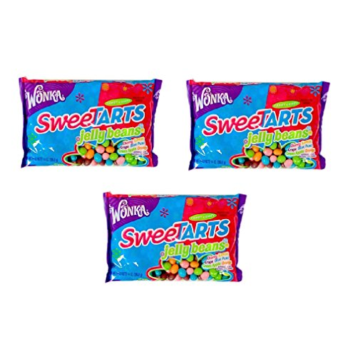 Wonka Sweetarts Jelly Beans Easter Bag, 14-ounce (Pack of 3) (Bean Tarts Jelly)