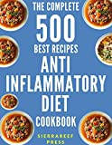 Enjoy these 500 healthy and delicious anti-inflammatory diet recipes to fight inflammation today!****LIMITED TIME OFFER****Chronic inflammation has been shown to be the root cause of many serious diseases including many cancers, Alzheimer's disease, ...