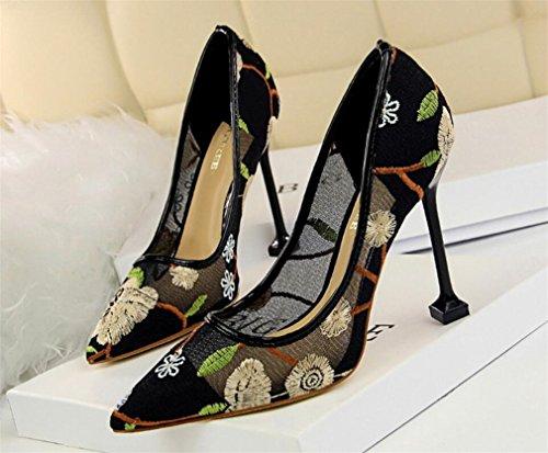 Sandalias De Del Altos Señoras Los La Que Partido Bride Mujeres Corte Bordar eu40 Datan Clásicas Oficina Las Tacones Princesa Zapatos Lujo gold Muchachas Boda Pumps 40qWPE