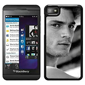 Fashionable Custom Designed Cover Case For Blackberry Z10 With Jamie Dornan 1 Black Phone Case