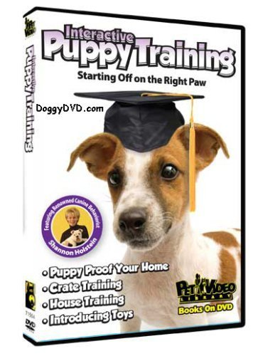 Interactive Puppy Training Dvd - Interactive Puppy Training DVD - Start your Dog off on the Right Paw by Pet Video Library