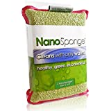 Nano Sponge Cleaning Sponges. Household Kitchen Sponges and Dish Sponge. Commercial Grade, Supersized, Super Durable Scrub Sponge Can Last You Months! Bacteria Resistant and Odor Free Guarantee!