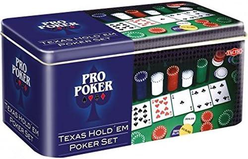 Tactic Games - Mazo de Cartas (Tactic 3095) (versión en inglés): Pro Poker Texas Holdem: Amazon.es: Juguetes y juegos