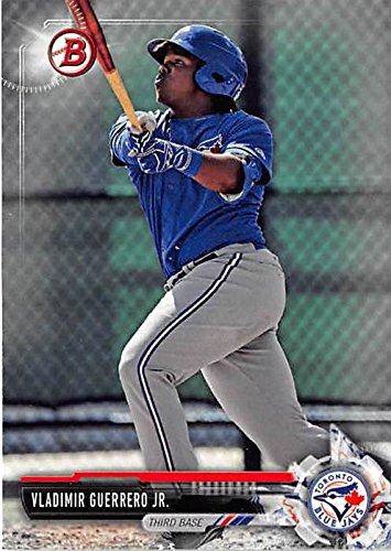 Vladimir Guerrero Jr. baseball card (Toronto Blue Jays) 2017 Topps Bowman #BD150 -