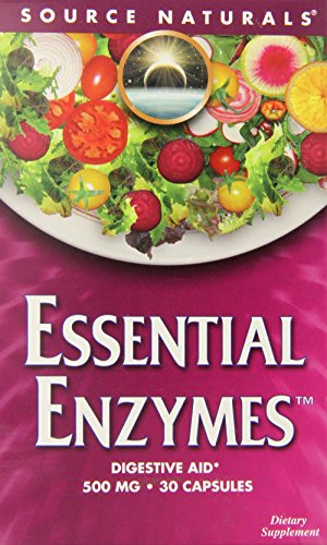 Source Naturals: Essential Enzymes 500 mg 30 Capsule Blister Pack Review