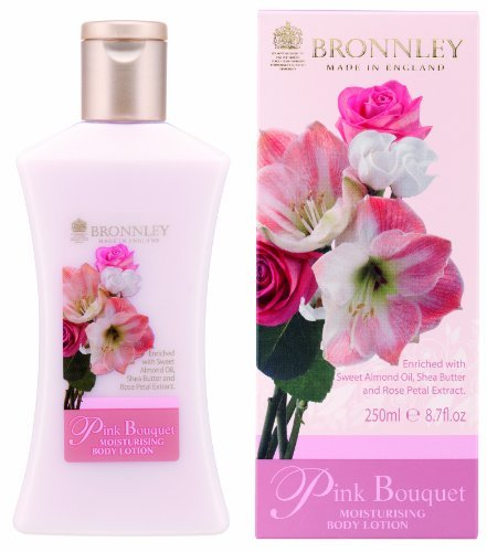 Bronnley Pink Bouquet Body Lotion 250ml by Bronnley