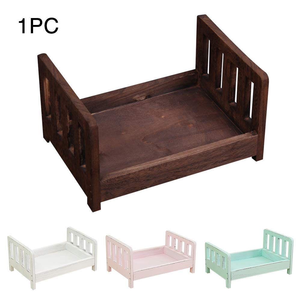 Coffee d Bed Posing Detachable Sofa Studio Props Baby Photography Basket Newborn Photo Shoot Crib Accessories Gift Background Infant