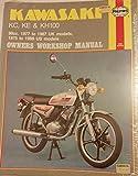 img - for Kawasaki KC, KE and KH 100 1977-87 Owner's Workshop Manual book / textbook / text book