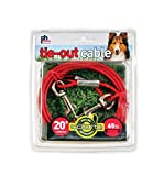 Prevue Pet Products 2120 Medium-Duty 20' Tie-Out Cable