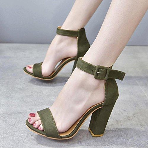 Moderno Verde Sandalen E Jazz Uface 15042420124320001 Donna IxB7q71w