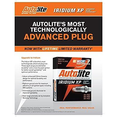 Autolite XP5682 Iridium XP Spark Plug, Pack of 1: Automotive