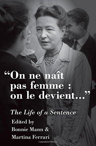 On ne naît pas femme : on le devient: The Life of a Sentence (Ferrari Für Männer)