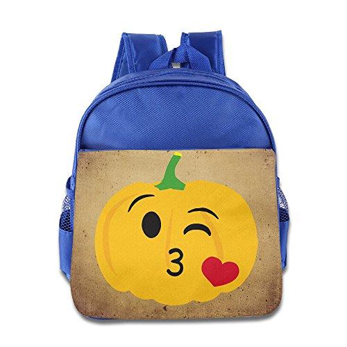 Halloween Pumpkin Love Kids Backpack School Bag For Boys/girls RoyalBlue - Danish Halloween Costumes