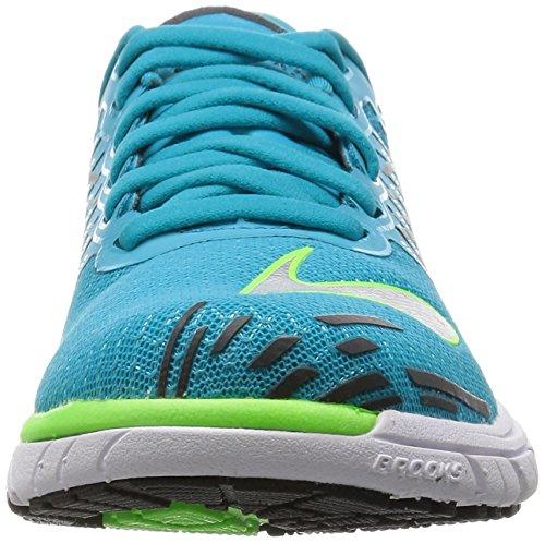 Zapatillas Azul PureCadence Brooks 5 Mujer Entrenamiento Blanco de Verde ERnfxOq